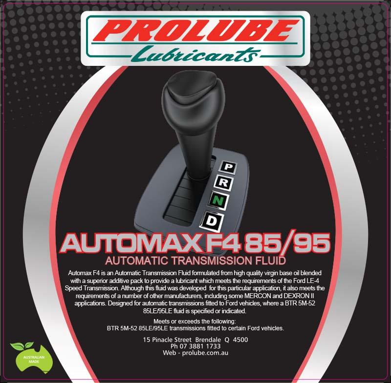 Automax F4 85W95