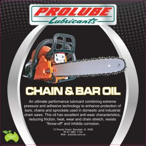 Chain & Bar Oil