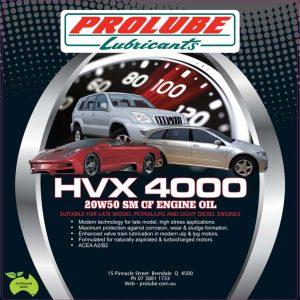 HVX4000 Oil
