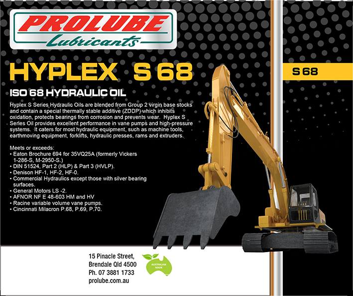 Hyplex - S Series Anti-Wear 68