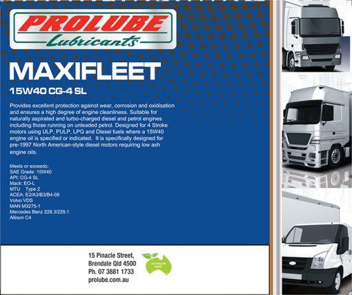 Maxifleet 15W40 CG-4-SJ