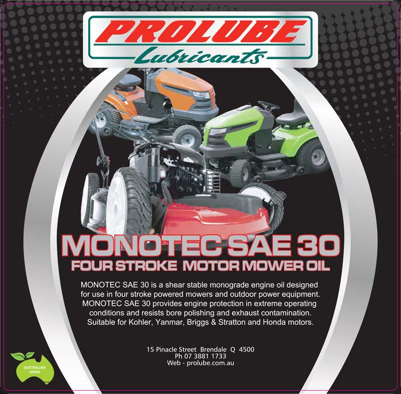 Monotec Sae30 Sf 4 Stroke Engine Oil