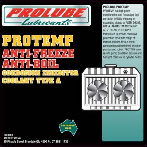Protemp Anti Freeze