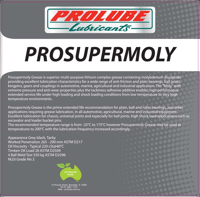 Pro Super Moly EP Grease