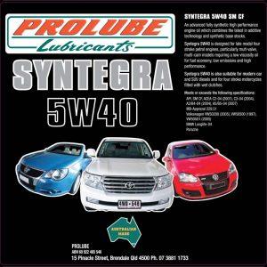 Syntegra 5w40