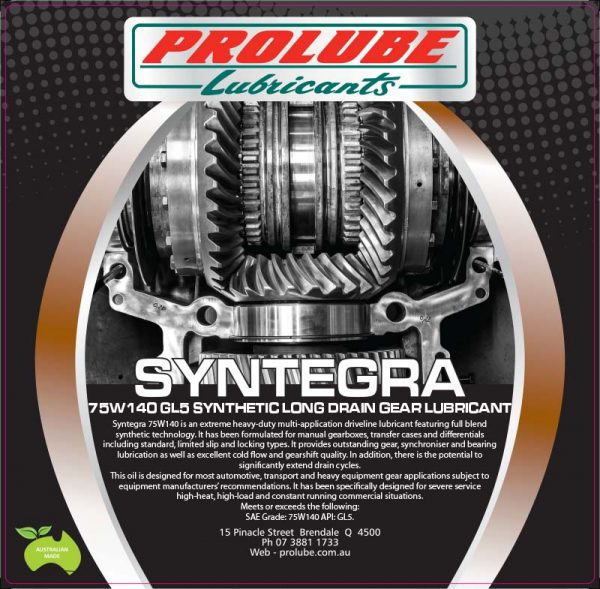 Syntegra 75W140