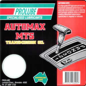 Automax MTS 1