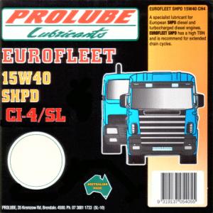 Eurofleet 15W40 CI-4-SL SHPD 1