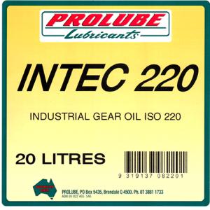 Intec Industrial Gear Oils 220 1