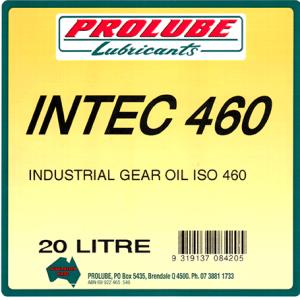 Intec Industrial Gear Oils 460 1