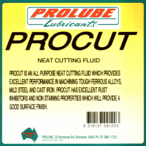 Procut Neat Cutting Fluid 1