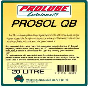 Prosol QB 1