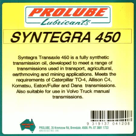 Syntegra Roadranger 50 Transmission 1