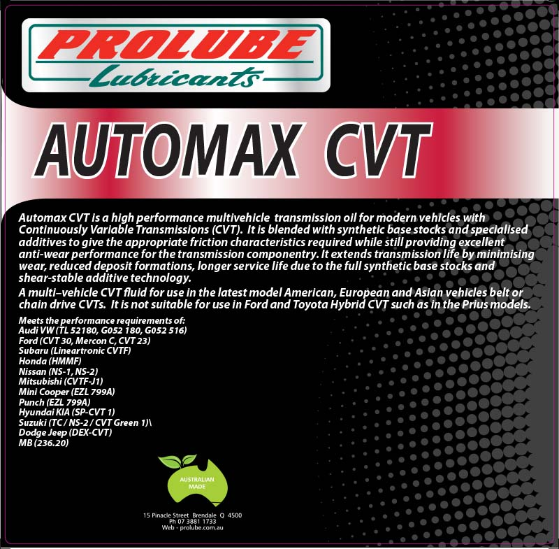 Automax CVT
