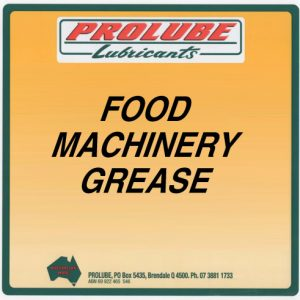 food machinery grease