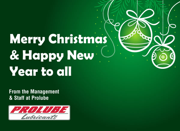 Merry Christmas from Prolube