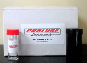 Oil samples kit