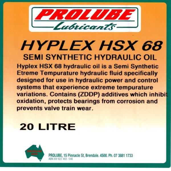 hyplex hsx 68