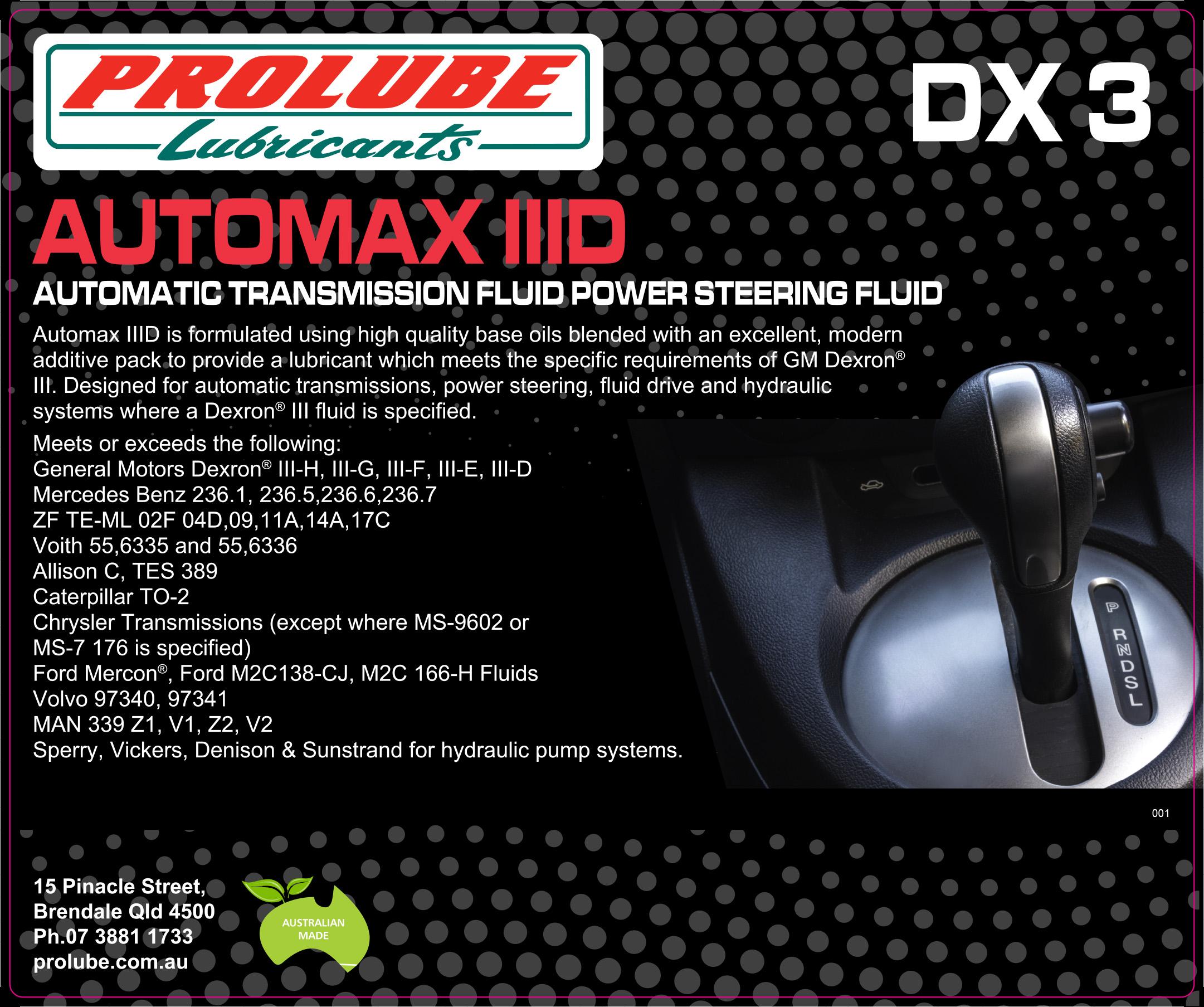 AUTOMAX IIID
